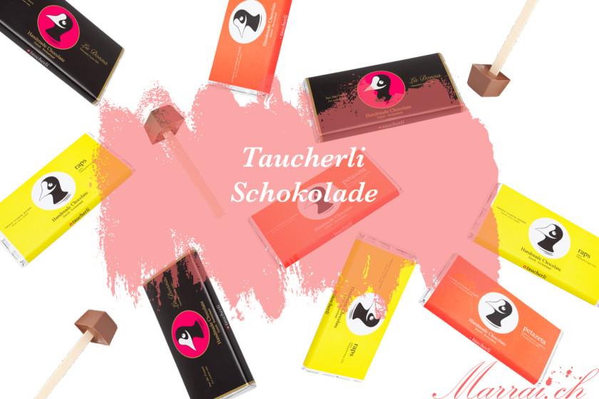 Taucherli Schokolade: La Donna, Raps, Petazeta - Bilder gehören Taucherli