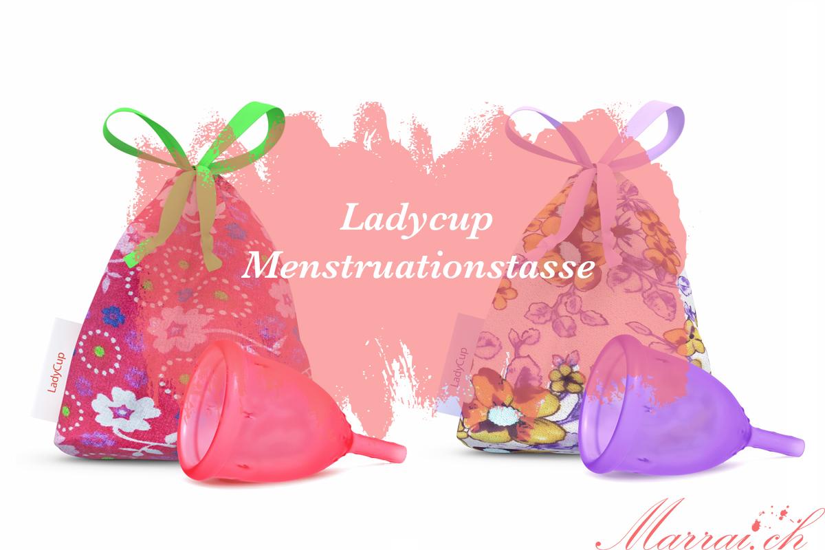 Ladycup Menstruationstasse Testbericht review Erfahrung Schweizer Blog Marrai.ch