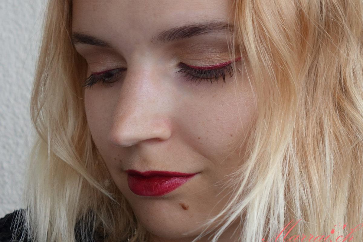 herbst make up red metallic eyeliner. Black Bedroom Furniture Sets. Home Design Ideas