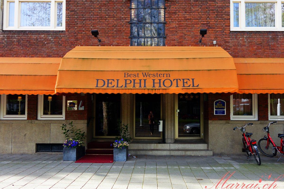 Best Western Delphi Hotel aussen