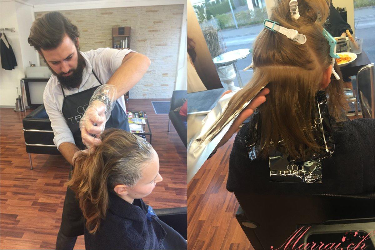 Haare färben & Mèches ziehen - Bilder gehören Trinity