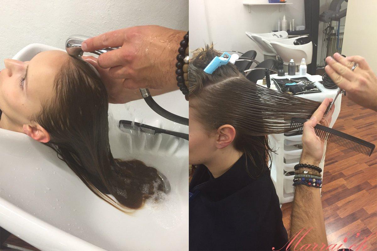 Haare waschen & schneiden - Bilder gehören Trinity