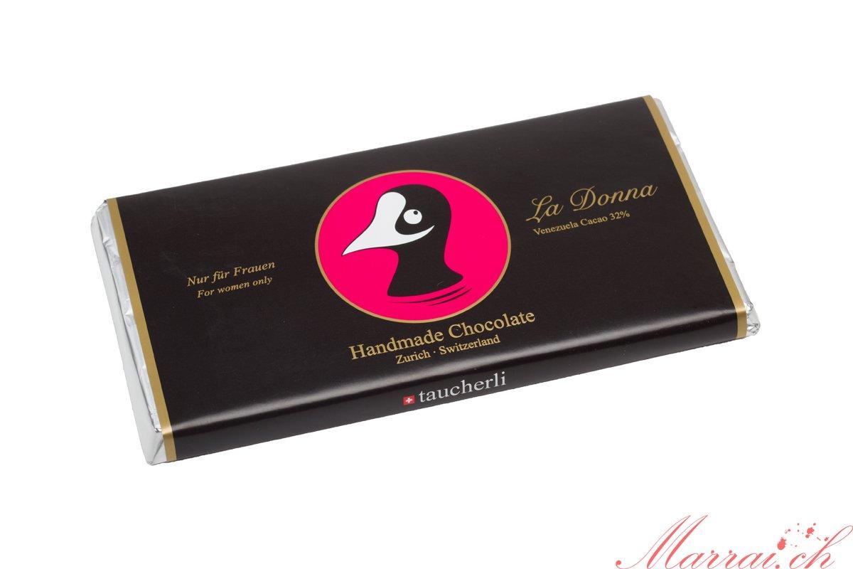 Taucherli Schokolade: La Donna - Bilder gehören Taucherli