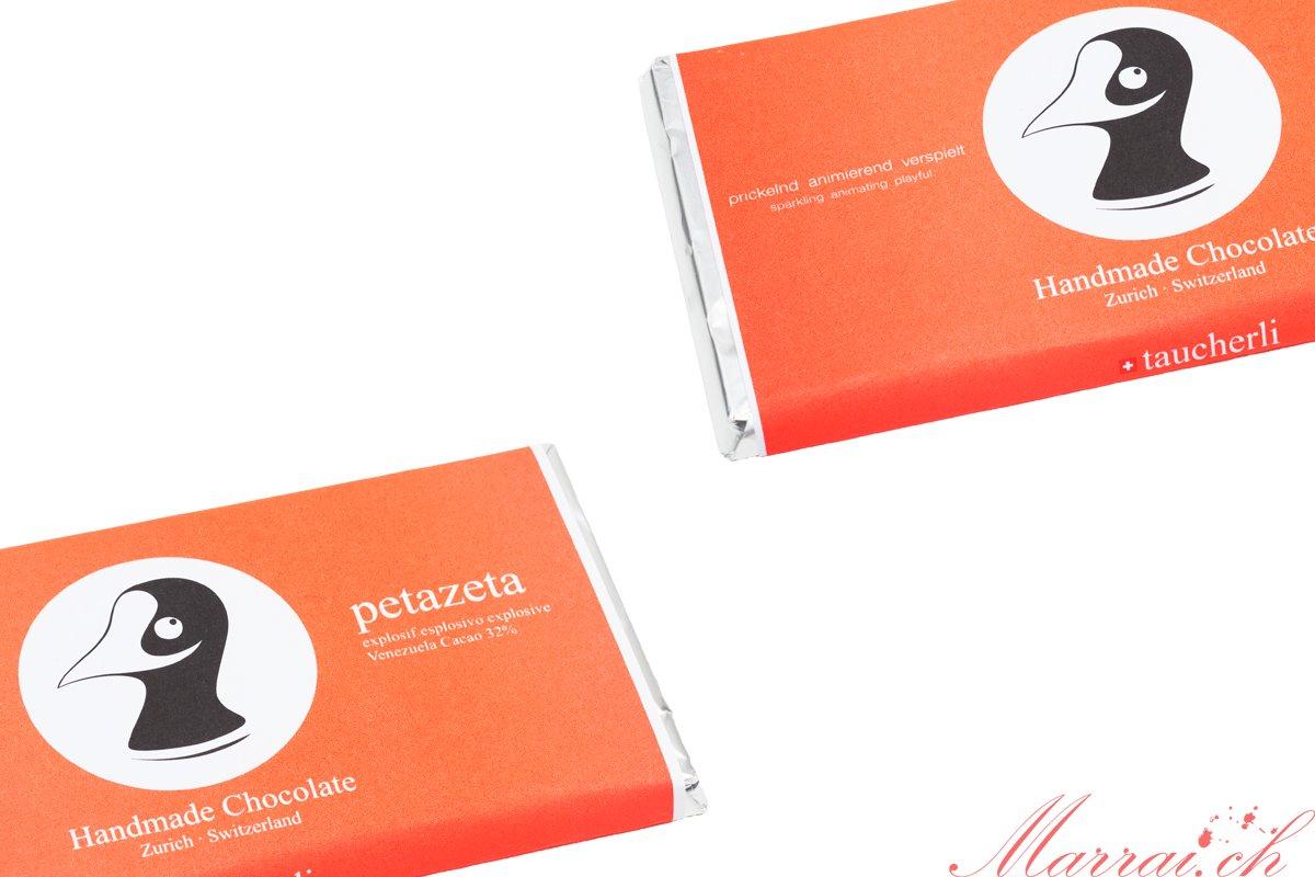 Taucherli Schokolade: Petazeta - Bilder gehören Taucherli
