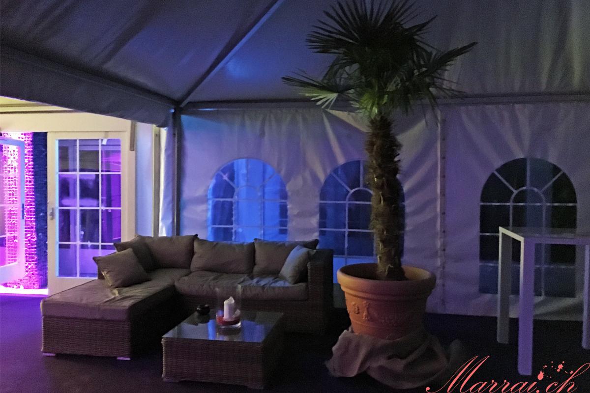 Lounge-Kino in Rapperswil - Raucherzone