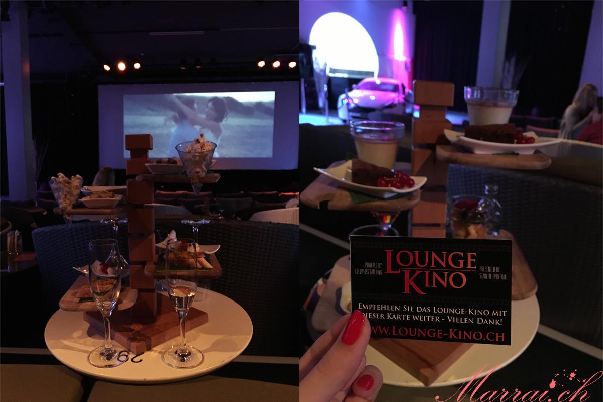 Lounge-Kino in Rapperswil - Vorspeisen / Dessert