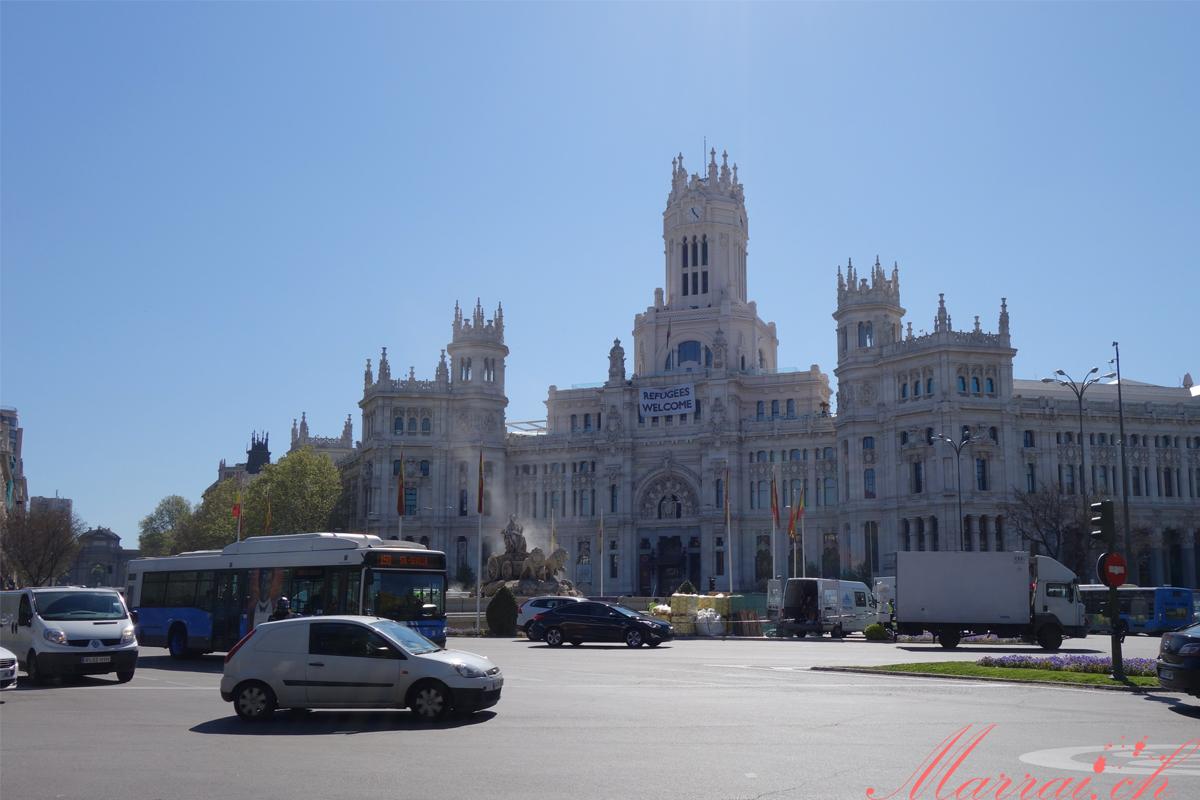 Plaza de Cibiles Madrid