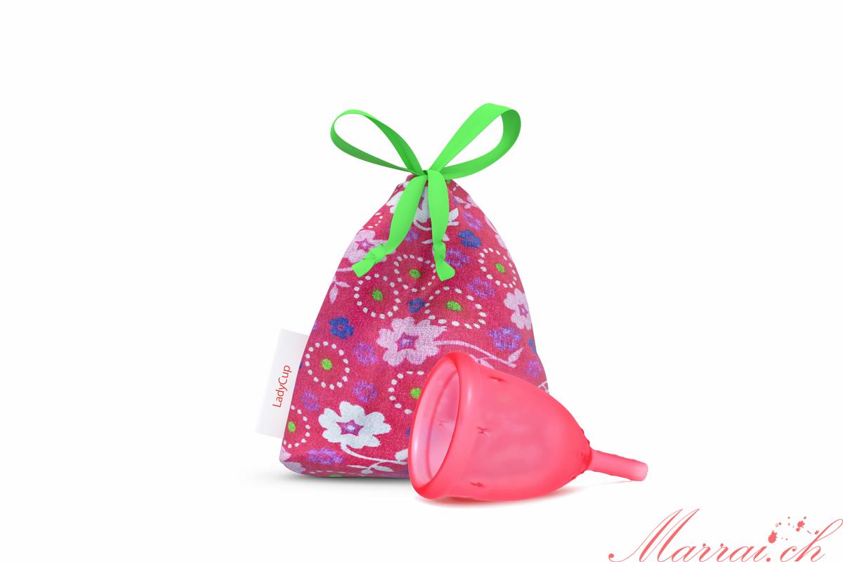 Ladycup Menstruationstasse Erdbeere