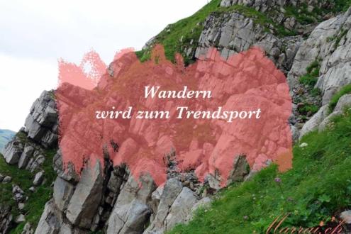 Titelbild Wandern Säntis Berg