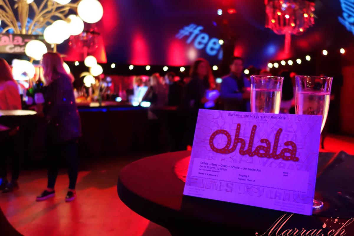 Circus Ohlala Foyerzelt