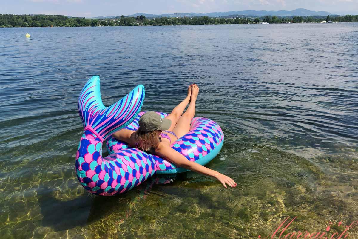 Mermaid Trend: Meerjungfrauen Schwimmring