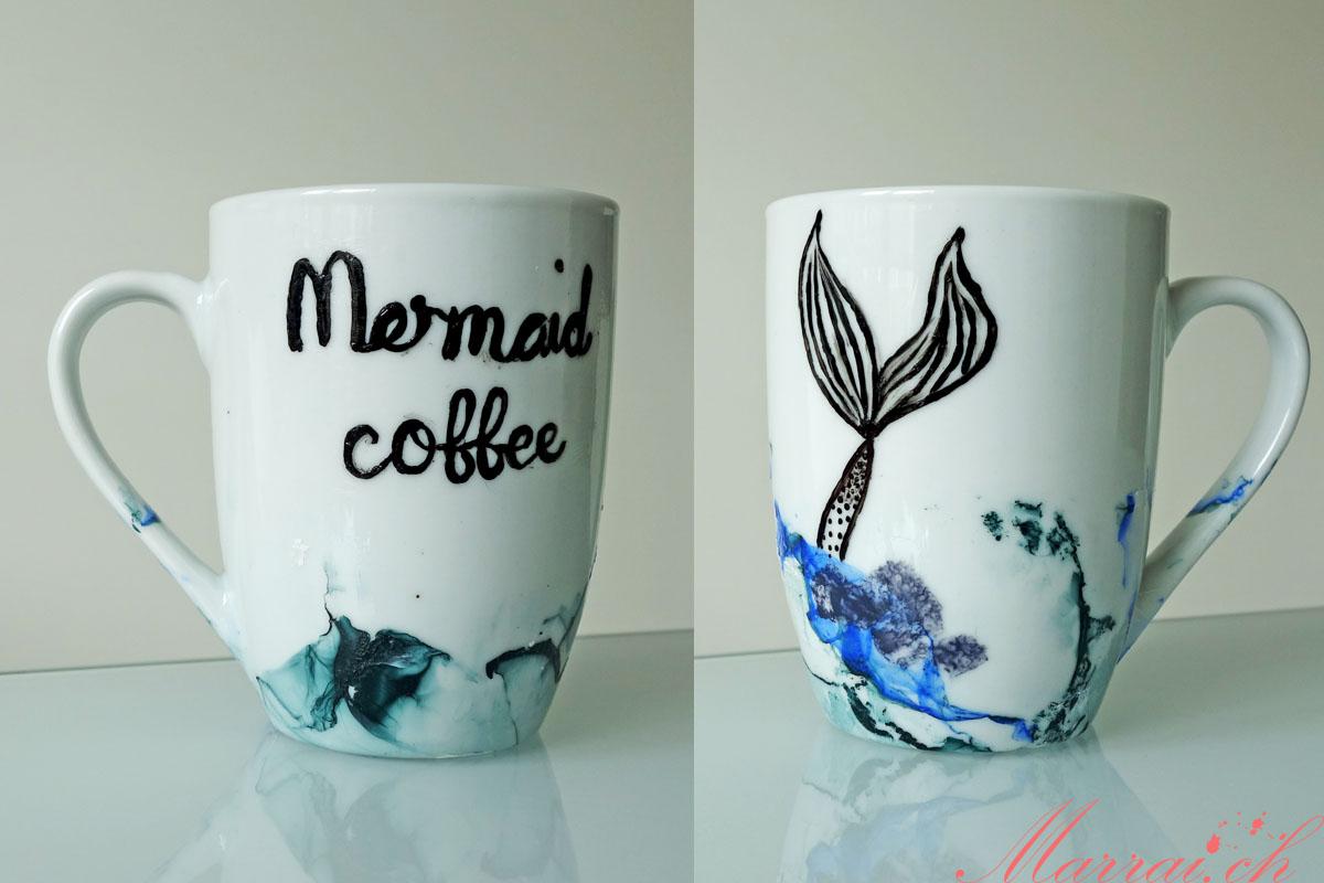 Mermaid Trend: Meerjungfrauen Tasse von shiwaiana.ch