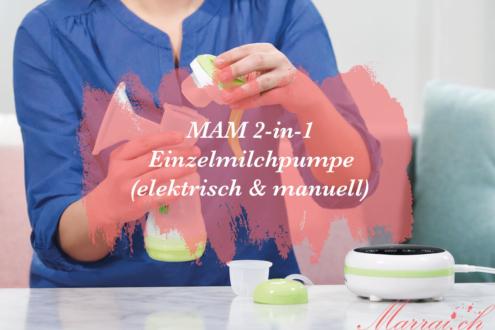 MAM 2-in-1 Milchpumpe